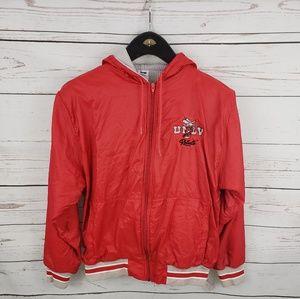 Vintage 90s UNLV mens windbreaker jacket